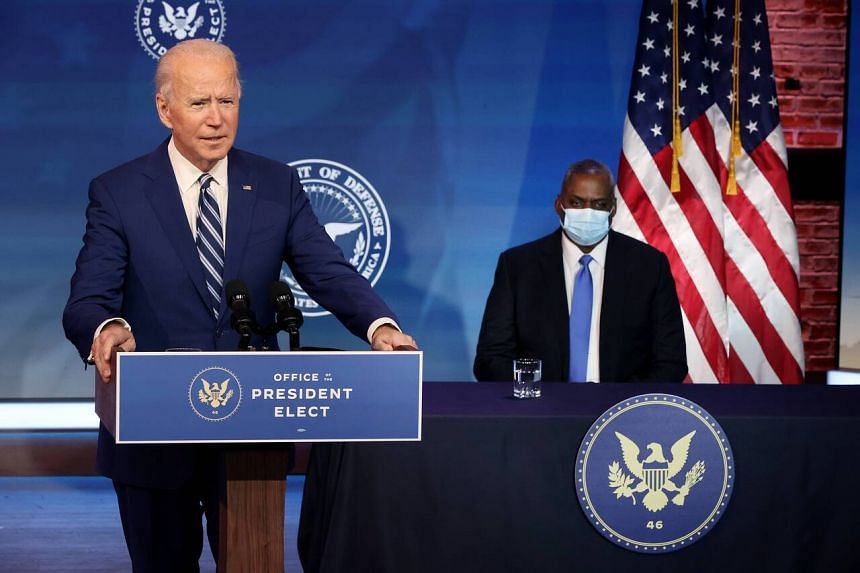 President-elect Joe Biden and his pick for secretary of defence Lloyd Austin stressed that the retired general valued the importance of America's allies.