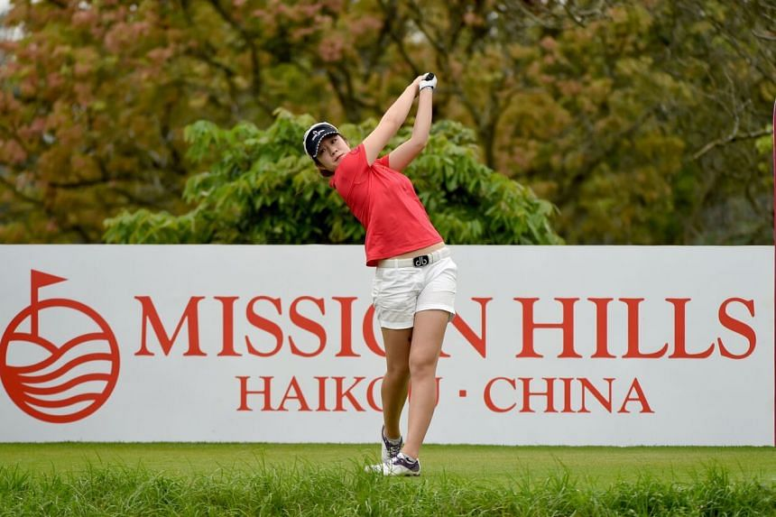 The 24-year-old Zhang won her first title in the recent mixed-field Hangzhou International Championships.