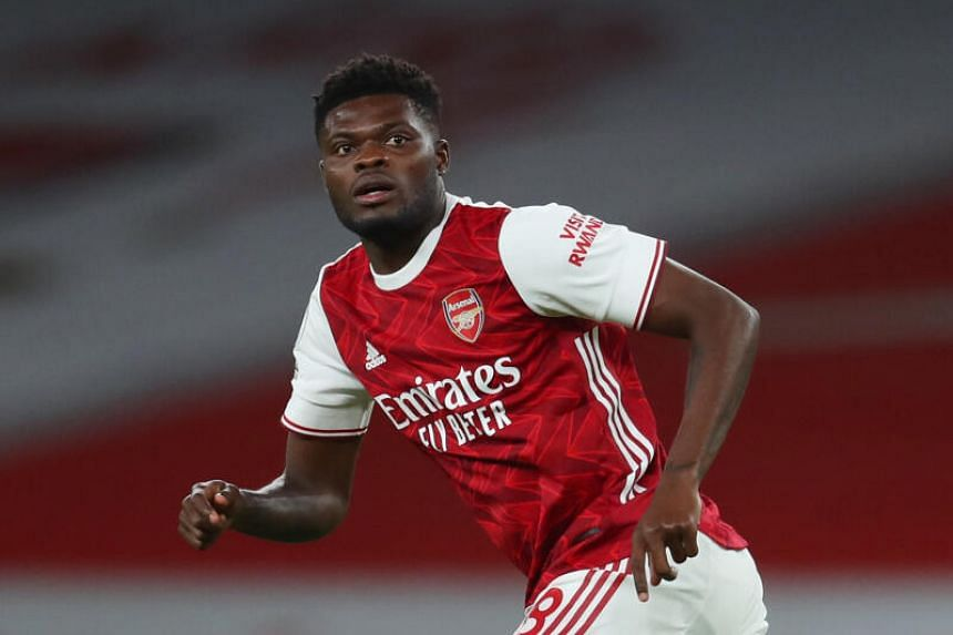 Arsenal midfielder Thomas Partey said it was not a recurrence of the earlier injury.