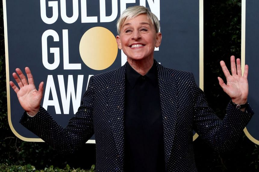 DeGeneres: Positive test for coronavirus but 'feeling fine'