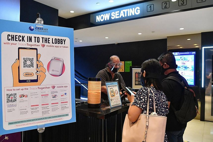 A merger of Cathay (above) and Golden Village (right) would not only provide economies of scale, but also give more financial and operating stability to mm2 Asia's cinema business, given the challenges faced by cinema operators since the Covid-19 out