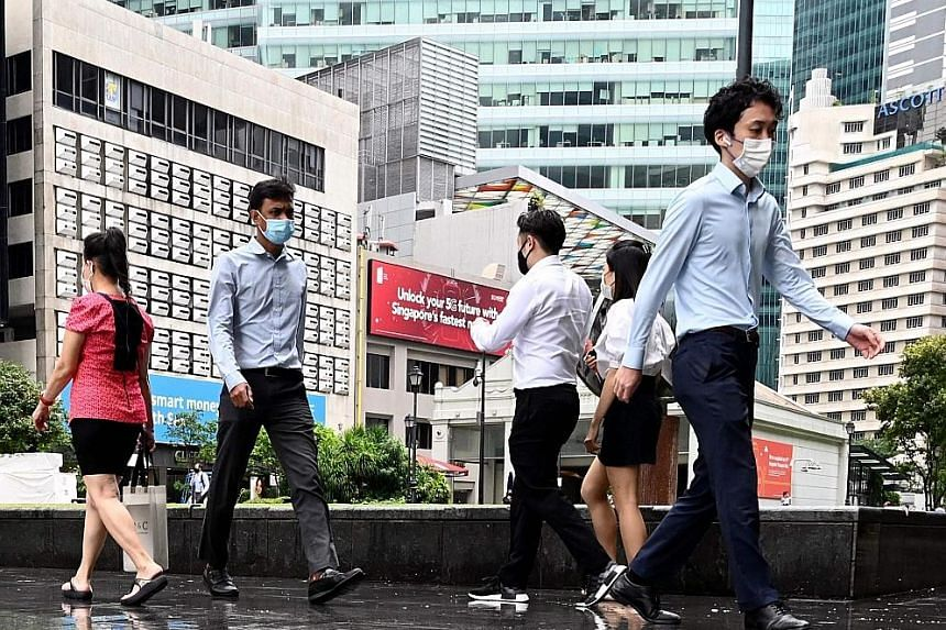 Human resource professionals have been the unseen heroes in keeping workers safe and organisations going during the Covid-19 pandemic, said Deputy Prime Minister Heng Swee Keat yesterday. PHOTO: AGENCE FRANCE-PRESSE