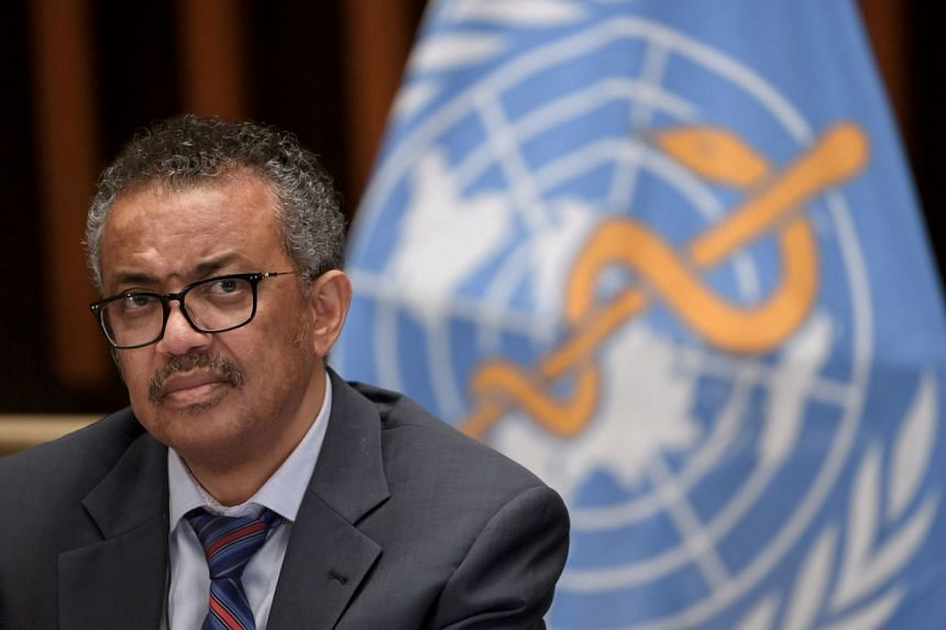 WHO chief Tedros aid nearly a billion doses of vaccines had been secured for the Covax programme.