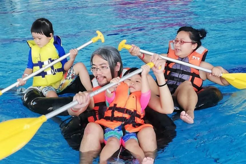 The camp was part of ActiveSG's Year End School Holiday Programme.