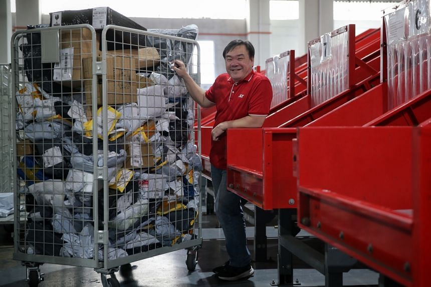 Mr Jason Ng, 48, made a switch from traditional logistics as he saw career opportunities in the e-commerce sector. He used his SkillsFuture Credit to pick up new skills and joined J&T Express Singapore in October.