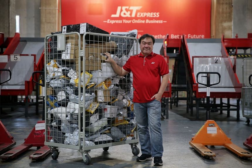 Mr Jason Ng, 48, operations manager at e-commerce logistics provider J&T Express Singapore. Mr Ng made a mid-career switch from traditional logistics as he felt there is more potential in e-commerce. He underwent training in e-commerce such as market
