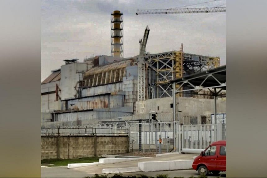 A view of Chernobyl's Reactor #4. The Ukrainian government seeks to have the area included on the Unesco heritage list.