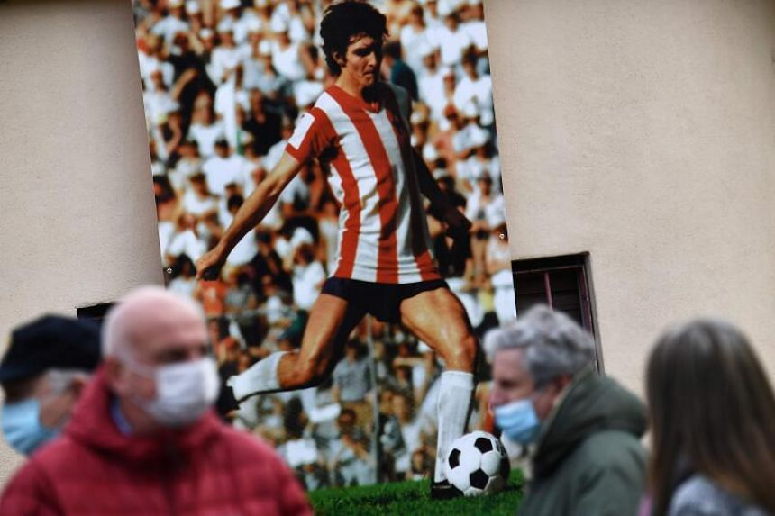 Paolo Rossi's wife returned from the ceremony to discover the home they shared had been broken into.