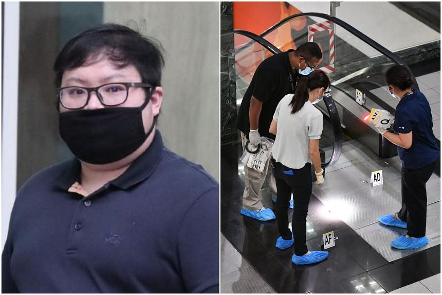 Loo Boon Chong was initially charged with the murder of Mr Satheesh Noel Gobidass.