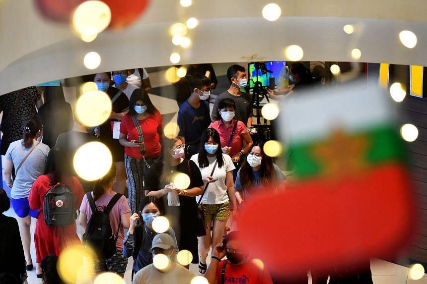 The capacity limit for malls and large standalone stores will be increased from 10 sq m per person to 8 sq m per person.