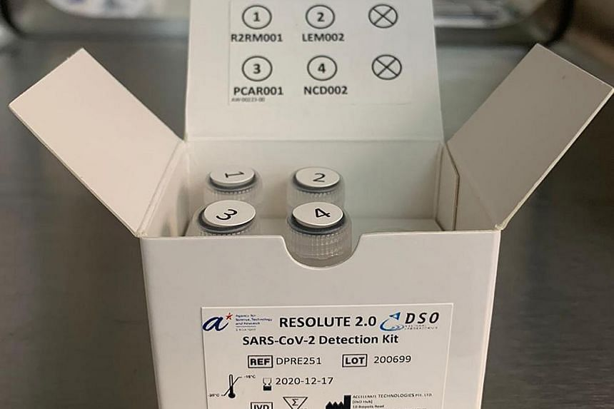 The Resolute 2.0 kit was developed by the Agency for Science, Technology and Research's Diagnostics Development (DxD) Hub and DSO National Laboratories in July.