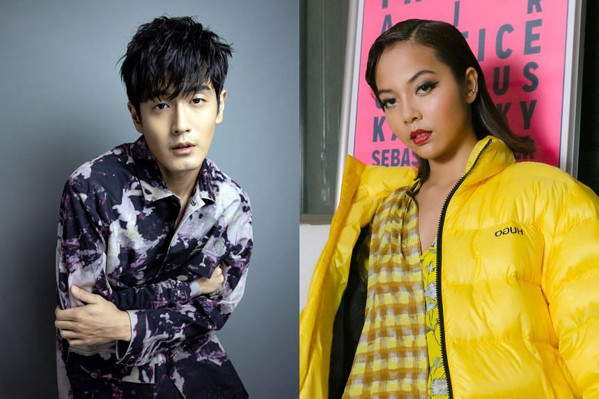 Home-grown acts Nathan Hartono (left) and Aisyah Aziz are expected to perform.