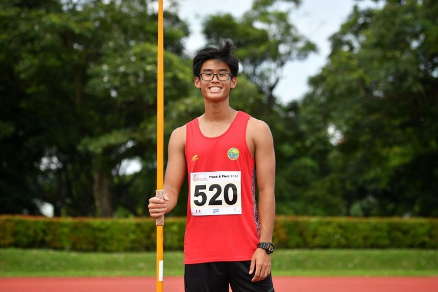 Roy Ng has set two national age-group – Under-20 and U-18 – records in the past fortnight.