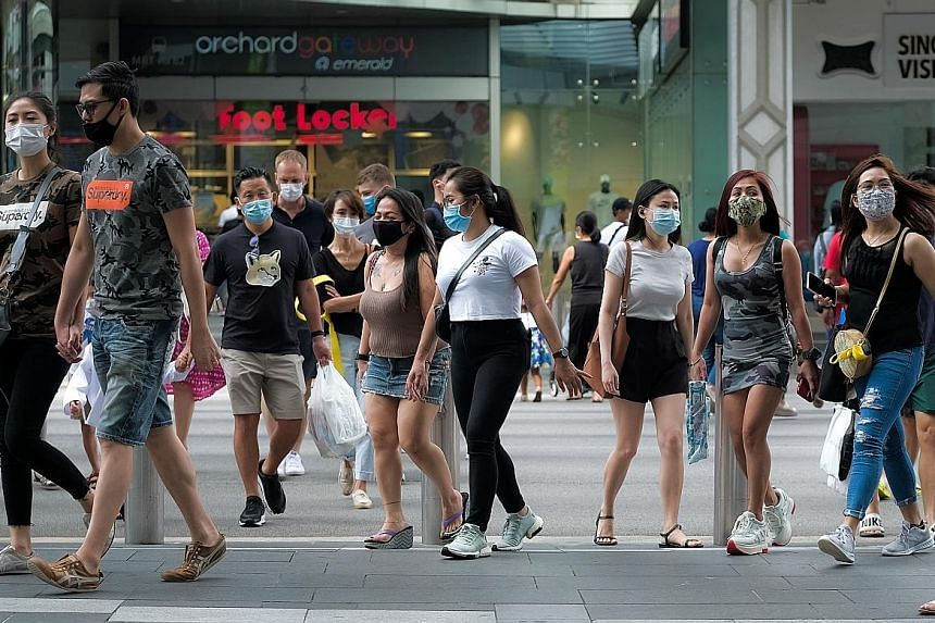 """""""Our defences against Covid-19 are much stronger now,"""" said Prime Minister Lee Hsien Loong yesterday. But he emphasised that """"Singaporeans must keep our guard up, because the virus is most likely still circulating silently within our community"""". He a"""