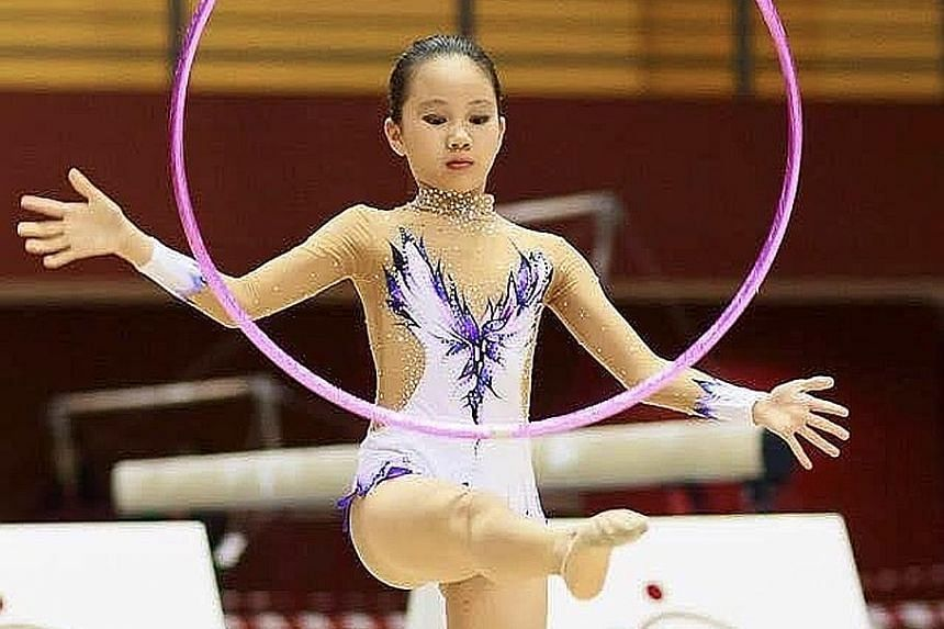 This sports podcast tackles the issues surrounding local athletes such as a young Kathryn Chia pictured here at the 2014 Singapore Open, when she constantly felt that her weight during her gymnastics days determined her self-worth.