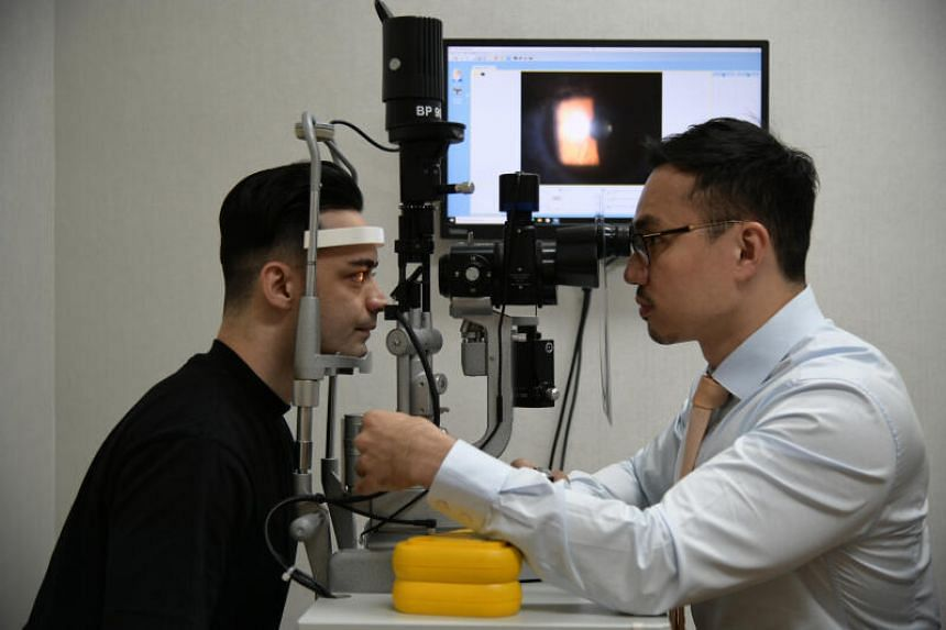 Dr Errol Chan has seen an increase in the number of patients with digital eye strain.