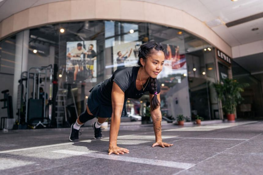 Tiffany Tan feels that a fitness routine doesn't have to be a strict regime and should encompass different activities.