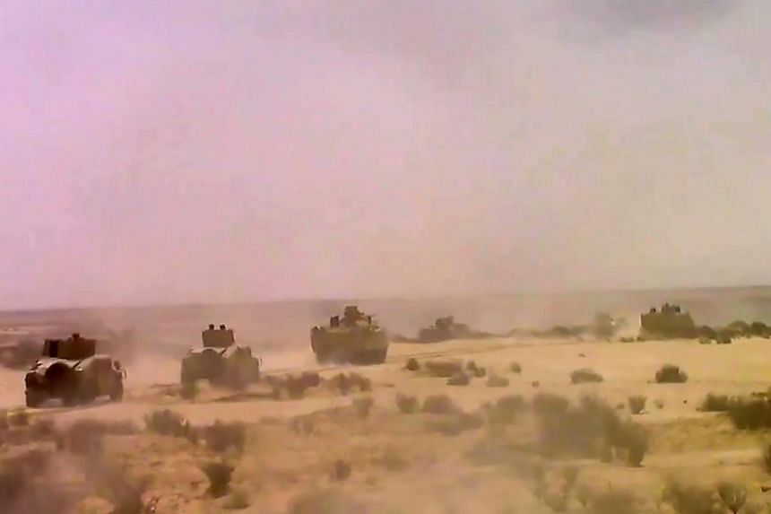 Egyptian security forces have been battling a long-running Islamist insurgency in the Sinai Peninsula.