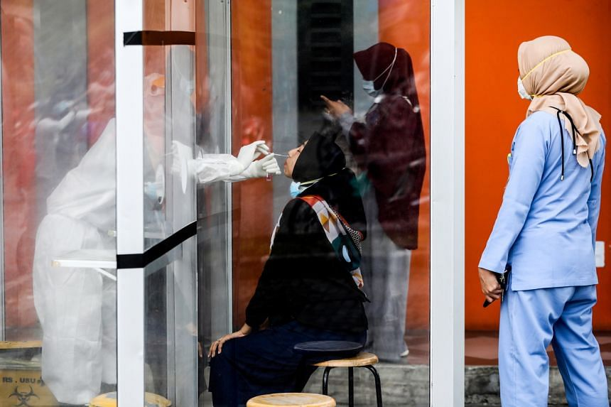 Indonesia is targeting the people who are most mobile due to their jobs, as well as regions with the highest number of coronavirus cases.