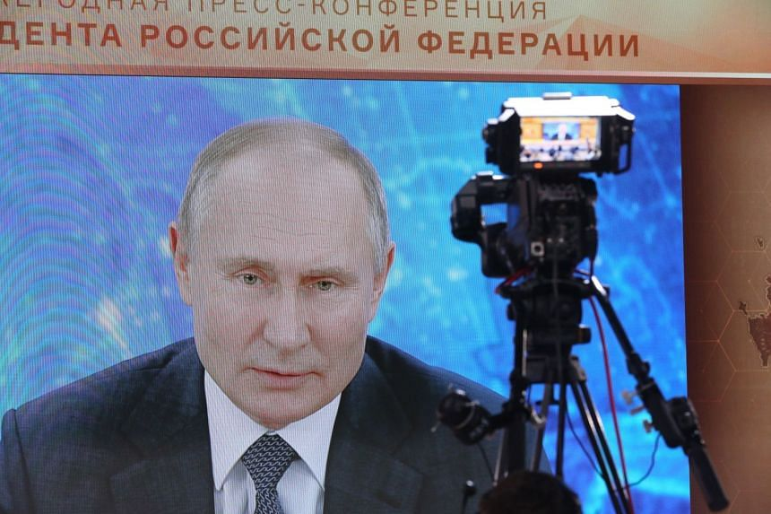 If Russia Had Poisoned Opposition Leader Navalny He Would Be Dead Says Putin Europe News Top Stories The Straits Times