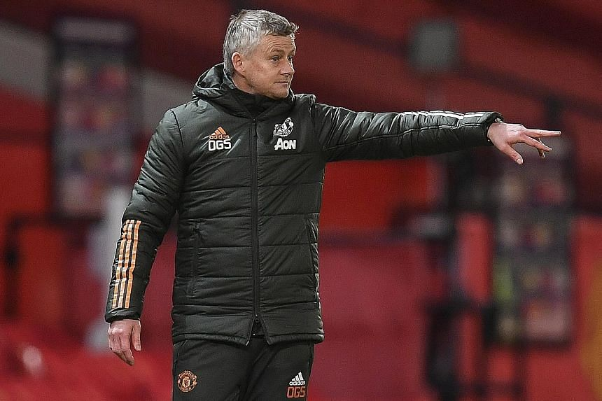Man United's Solskjaer anxious about keeping players fit during hectic Christmas schedule
