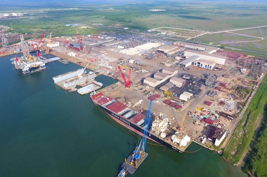 The vessel is being built by Keppel Offshore & Marine's shipyard in the US, Keppel AmFELS.