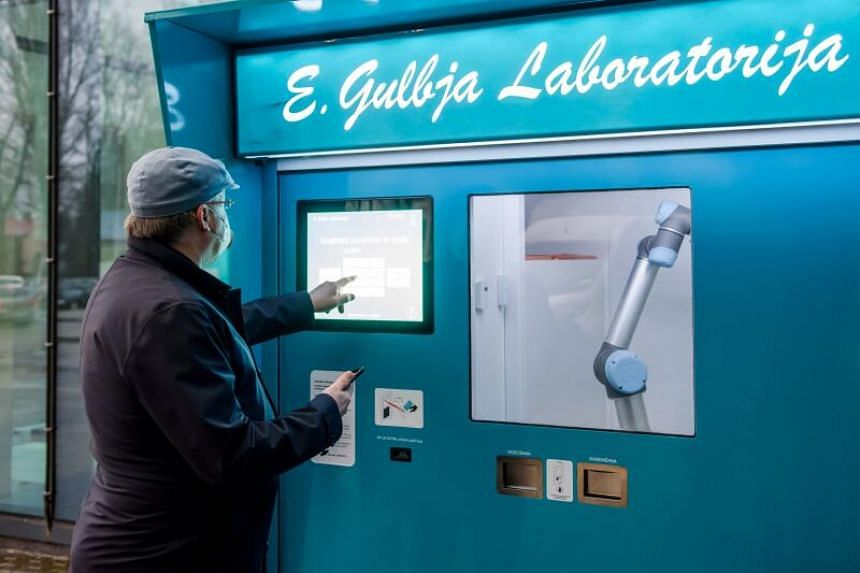 The machine has tested roughly 500 students and staff.