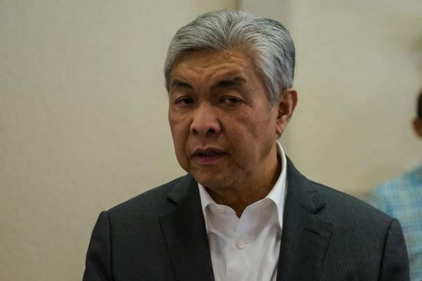 Mr Ahmad Zahid said the contractor's failure to deliver the ships was only highlighted in 2019.