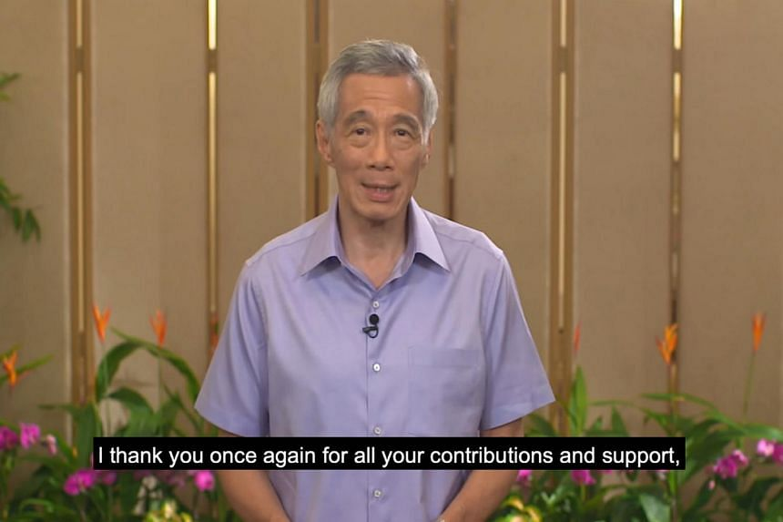 PM Lee assured migrant workers that they will be cared for just as Singaporeans are cared for.