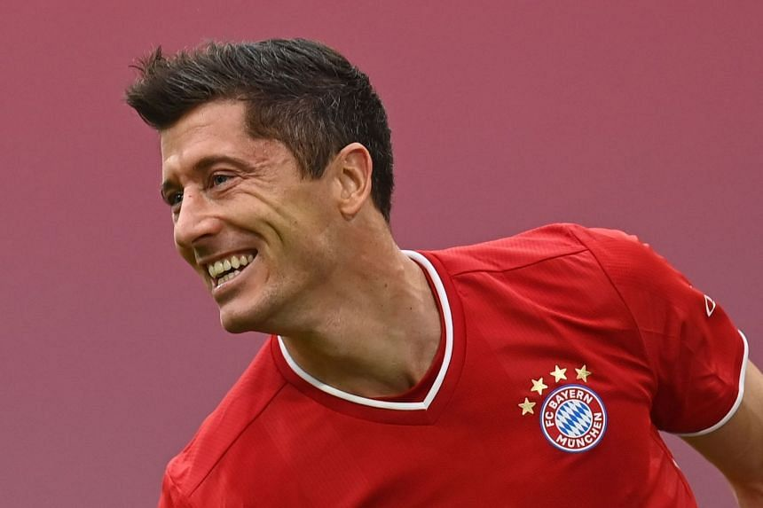 Lewandowski was named the 2019-20 Uefa Men's Player of the Year in October 2020.