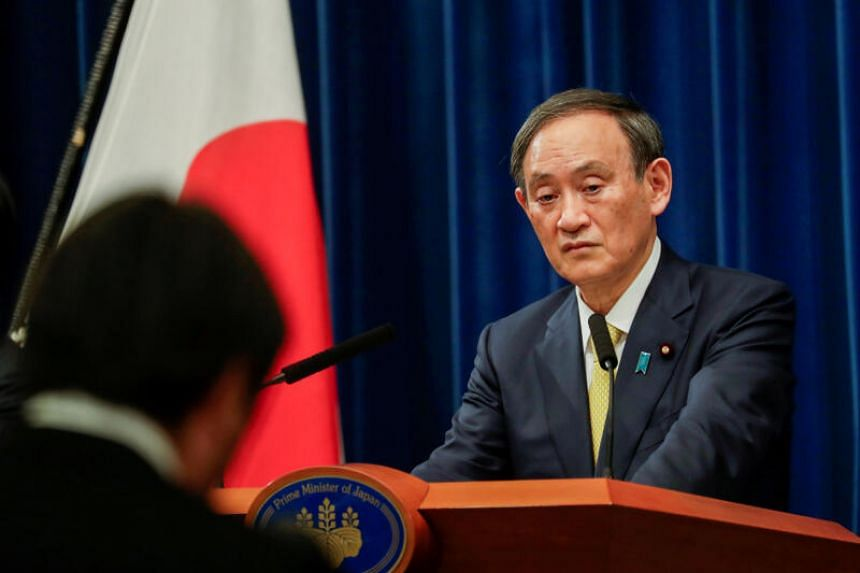 For now, as the year draws to a close, Japanese Prime Minister Yoshihide Suga's priorities are largely domestic by circumstance and inclination, says the writer.