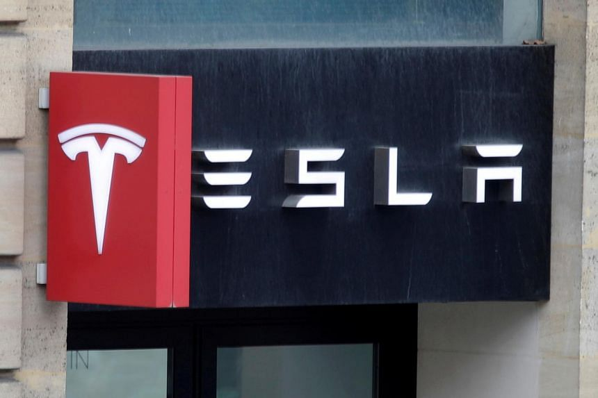 Tesla stock has already seen a spectacular rise this year of 680 per cent.