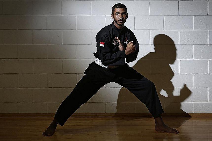 SHEIK FARHAN SHEIK ALAU'DDIN, 23 Silat world champion