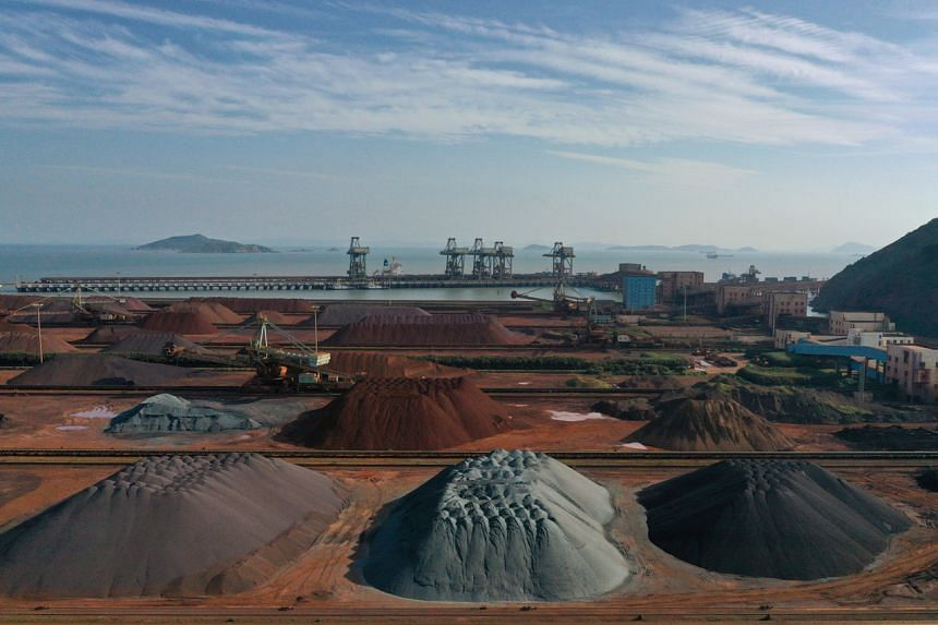 Iron ore has helped to fuel China's infrastructure programme in recent decades.
