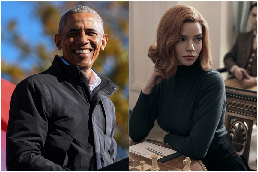 Former United States president Barack Obama shared that he enjoyed Netflix's chess drama The Queen's Gambit.