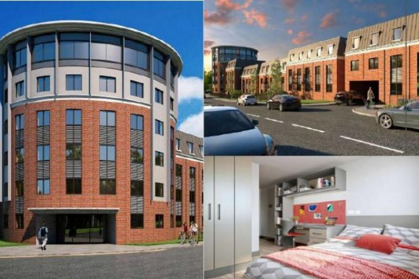 The Red Queen, situated north of the University of Warwick, comprises new student accommodation of approximately 210 en-suite beds over five floors.