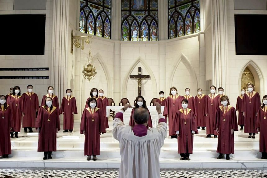 The choir will be presenting two concerts online.