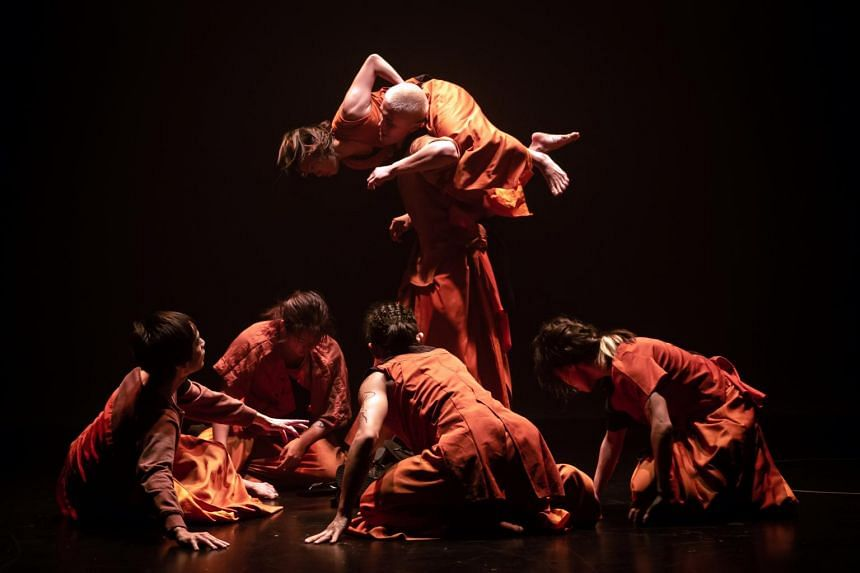 T.H.E Dance Company's PheNoumenon production.