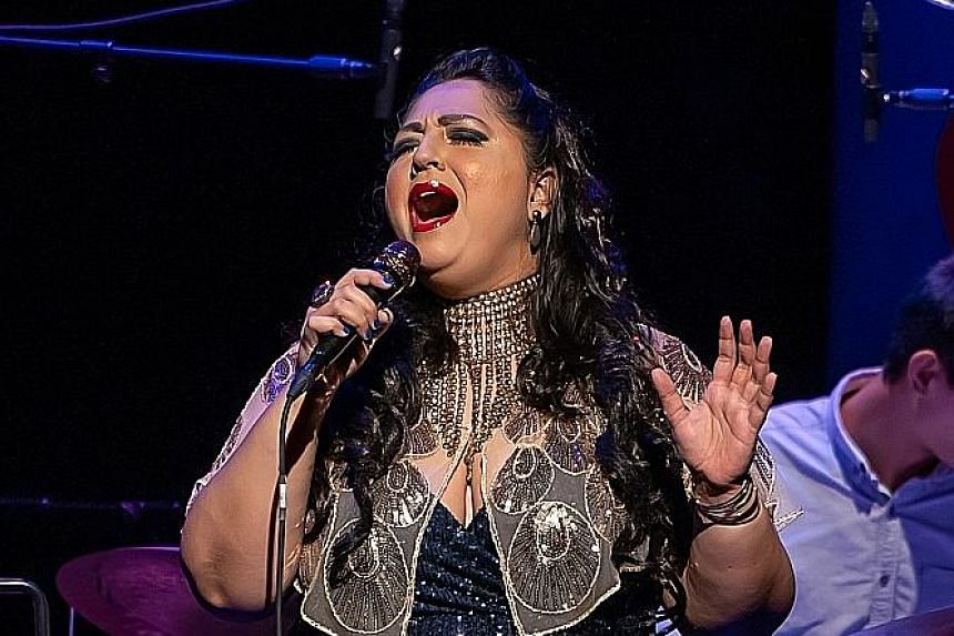 Singer Alemay Fernandez is a favourite with jazz fans.