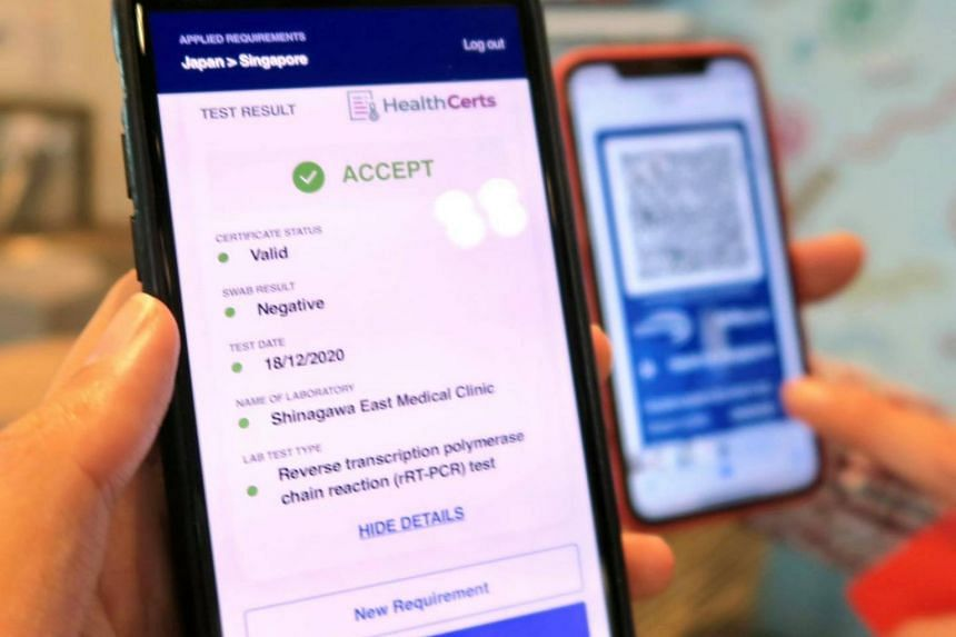 The new service can be used to verify the Covid-19 vaccination statuses of travellers.