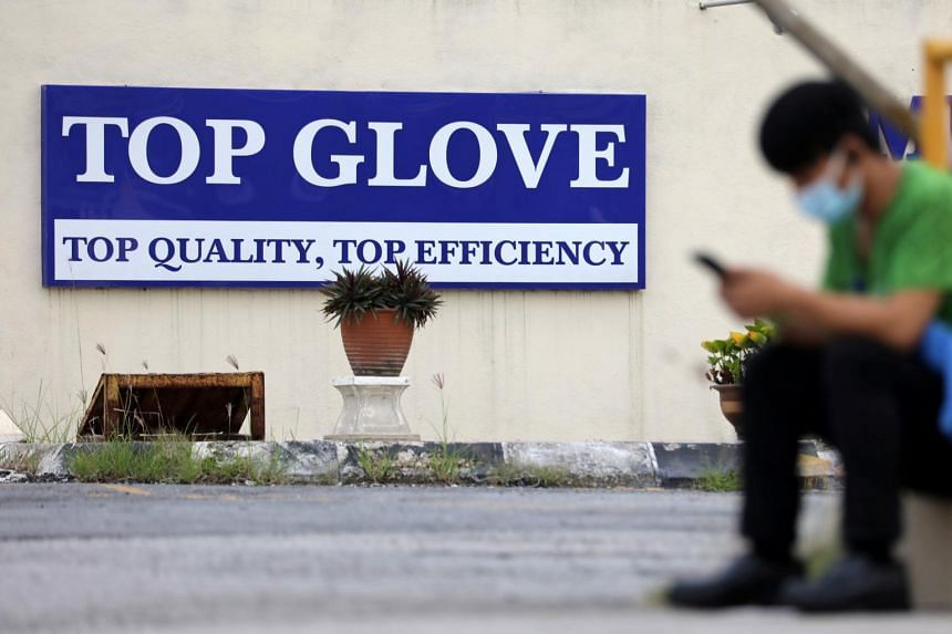 The world's largest medical glove maker has established three helplines for aggrieved workers.