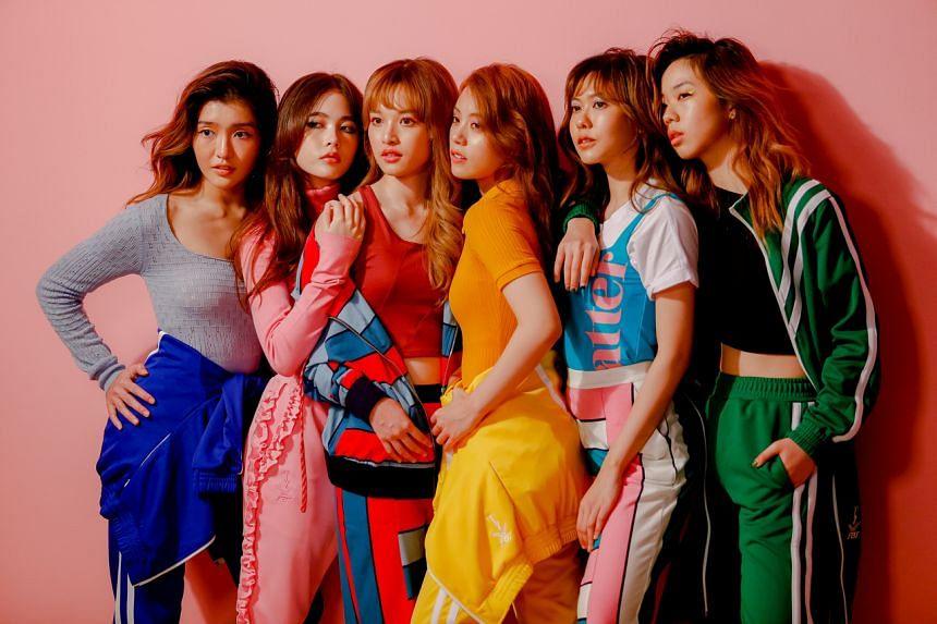 Thai female band Lyra in Bangkok on June 20, 2020.