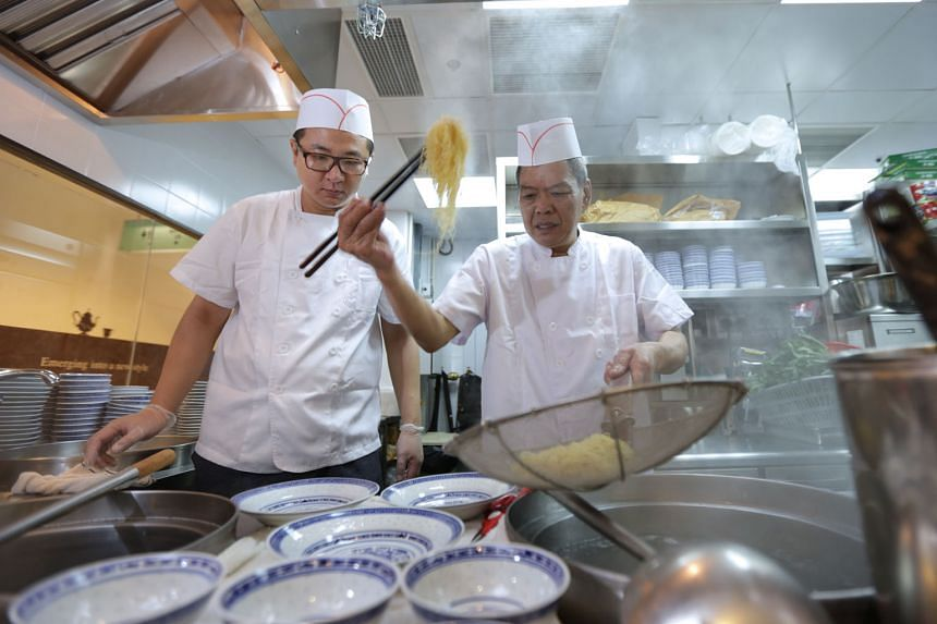 Mak's Noodle's flagship outlet opened in 2015 at The Centrepoint and was headed by Hong Kong chef Chan For Kam (right, cooking noodles). The brand is best known for its thin springy noodles and plump wontons filled with chunky prawn in flavourful sou