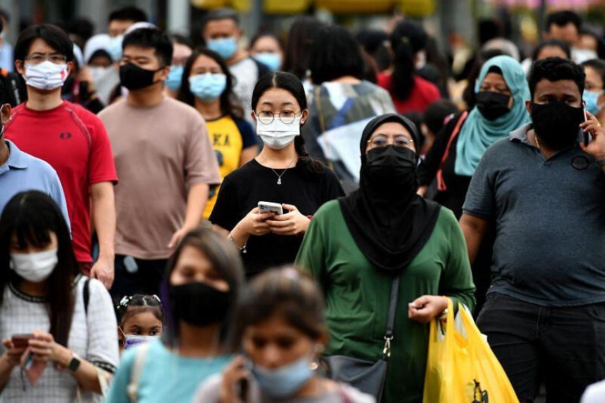 Masks serve primarily to reduce the emissions of virus-laden droplets.