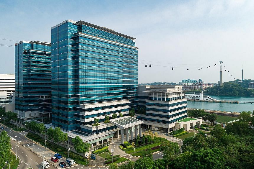 Keppel Bay Tower is a Grade A office building in the Keppel Bay waterfront precinct in the HarbourFront area, with a total net lettable area of about 386,600 sq ft. Following the divestment, Keppel Land, the property arm of Keppel Corporation and spo