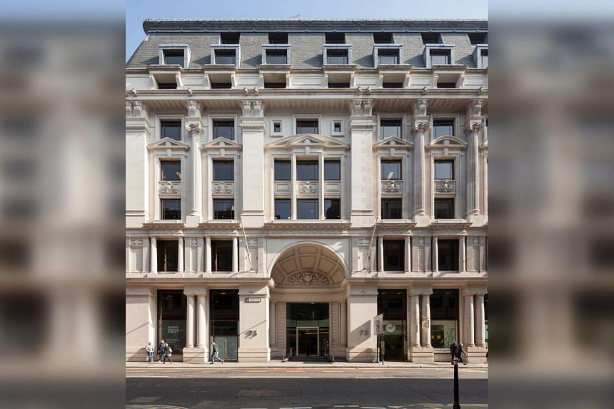 First King owns a freehold nine-storey office building in the City of London, at 75 King William Street.