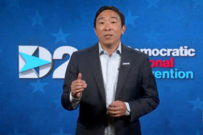 Andrew Yang would be the city's first Asian-American mayor.