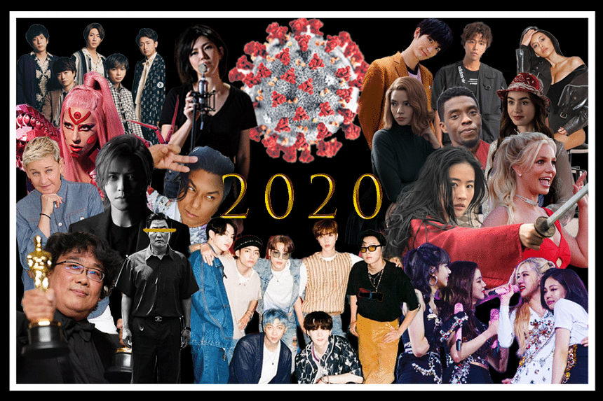 In this week's #PopVultures, Jan Lee and Yeo Sam Jo pay tribute to some of this year's dearly departed stars before recapping the biggest and wildest celebrity stories of 2020.