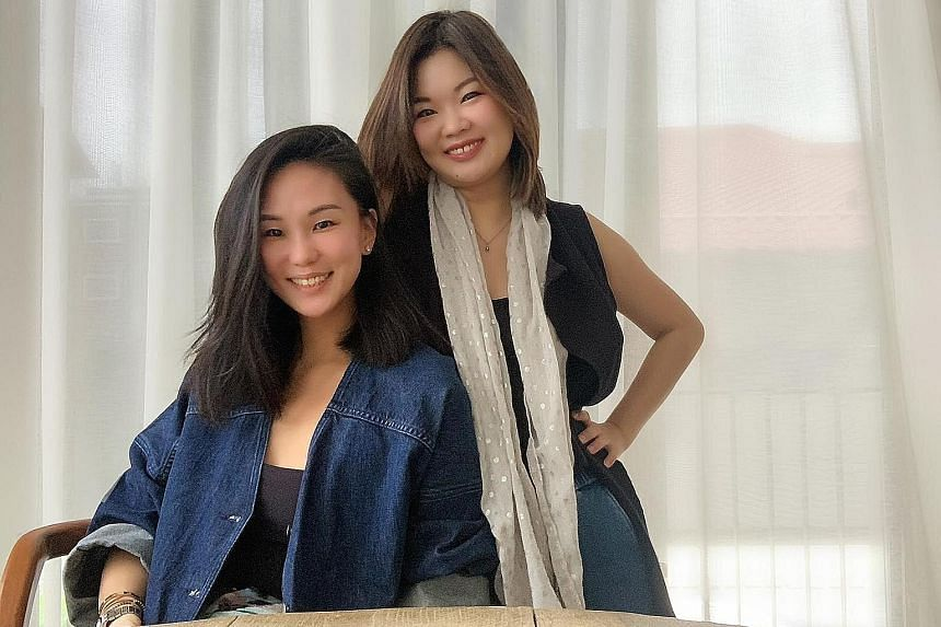 Loop PR founders Lynn Yeow-De Vito (left) and Lyla Lin came up with the idea of Hi5SG during the circuit breaker. PHOTO: COURTESY OF LOOP PR
