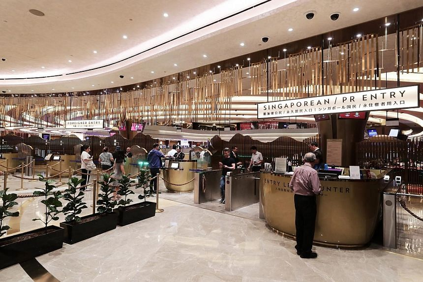 Marina Bay Sands, one of the most profitable casinos in the world based on margins, says it has cut back on problematic third-party transfers and tightened security over their use. ST FILE PHOTO